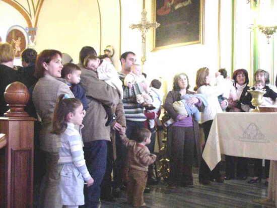 Los más pequeños fueron los protagonistas en el Día de la Candelaria, Foto 1