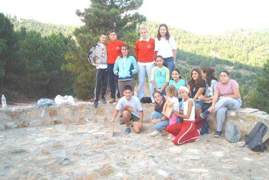 Una veintena de jóvenes han participado en el proyecto «Itinerario en espacios naturales» de Cruz Roja Juventud, Foto 2