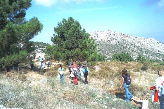 Una veintena de jóvenes han participado en el proyecto «Itinerario en espacios naturales» de Cruz Roja Juventud, Foto 3