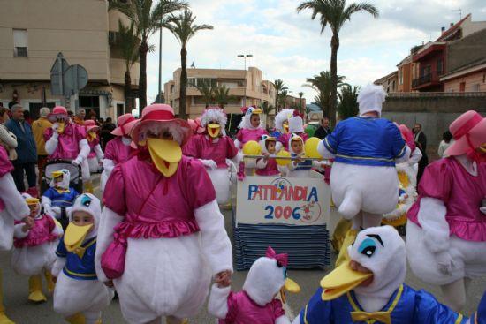 Más de dos mil personas participaron en el desfile de carnaval infantil el 24 de febrero, Foto 1