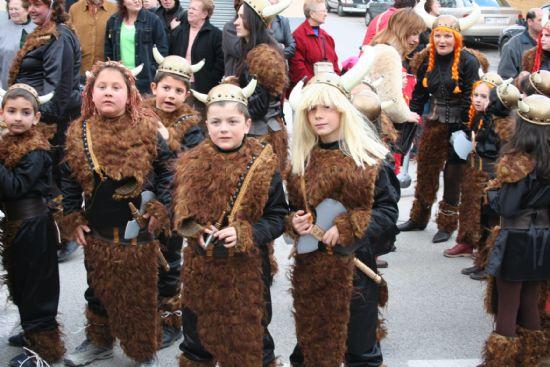 Más de dos mil personas participaron en el desfile de carnaval infantil el 24 de febrero, Foto 4