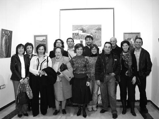 """El colectivo """"El escuadrón acrílico"""" expone su obra en Alhama de Murcia, Foto 1"""