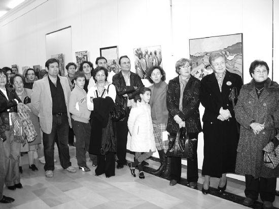 """El colectivo """"El escuadrón acrílico"""" expone su obra en Alhama de Murcia, Foto 2"""