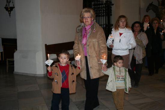 Numerosas personas asistieron a la celebración del día de la Candelaria en las parroquias de la localidad, Foto 4