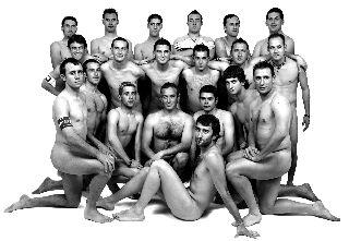 Los jugadores de la Unión Deportiva Paretón suben la temperatura con la edición de un original calendario, Foto 1