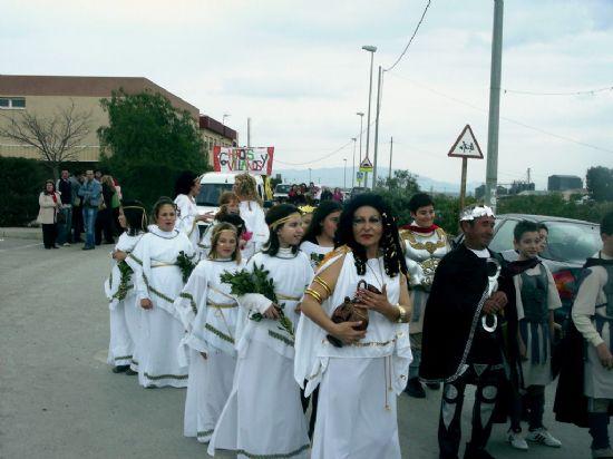 Los escolares de la diputación de Paretón-Cantareros también tuvieron su propia celebración del carnaval, Foto 1