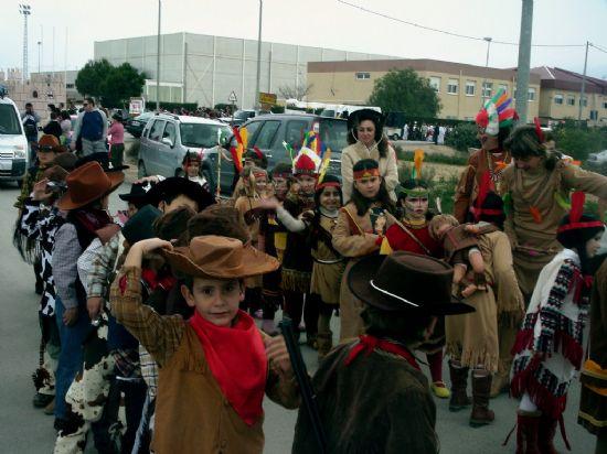 Los escolares de la diputación de Paretón-Cantareros también tuvieron su propia celebración del carnaval, Foto 2