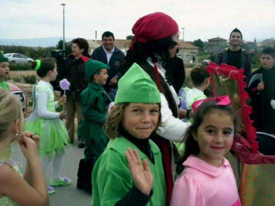 Los escolares de la diputación de Paretón-Cantareros también tuvieron su propia celebración del carnaval, Foto 3
