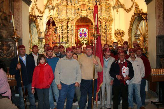 Santa Eulalia de Mérida bajó el 8 de diciembre desde su ermita acompañada por alrededor de 10.000 personas, Foto 1