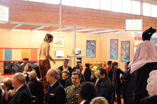 Los institutos de Educación Secundaria de la localidad expusieron su oferta formativa en el Salón del Estudiante de Lorca, Foto 1