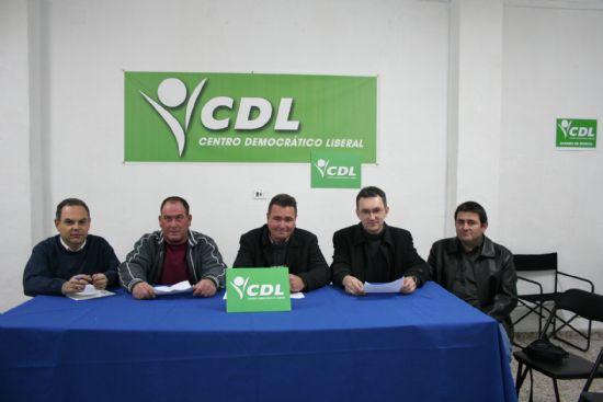 El Centro Democrático Liberal se presentará en Totana a las próximas elecciones municipales del día 27 de mayo, Foto 1