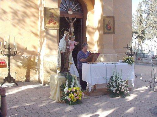 El cementerio celebra la festividad de Nuestra Señora del Carmen, Foto 1