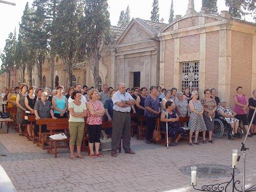 El cementerio celebra la festividad de Nuestra Señora del Carmen, Foto 4