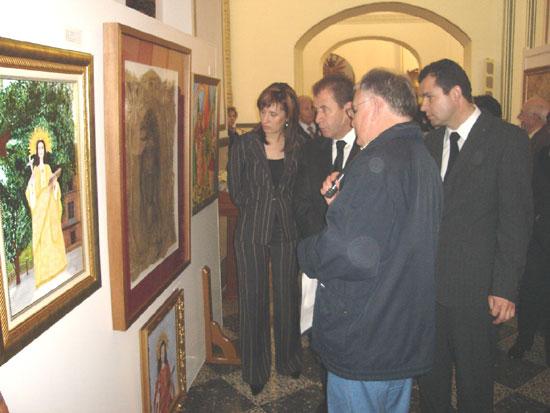 La Parroquia de las Tres Avemarías acoge una exposición titulada Pintura religiosa en Totana I, Foto 5