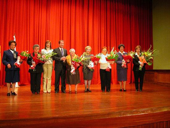 El Ayuntamiento de Totana rindió homenaje a varias mujeres del municipio , Foto 1