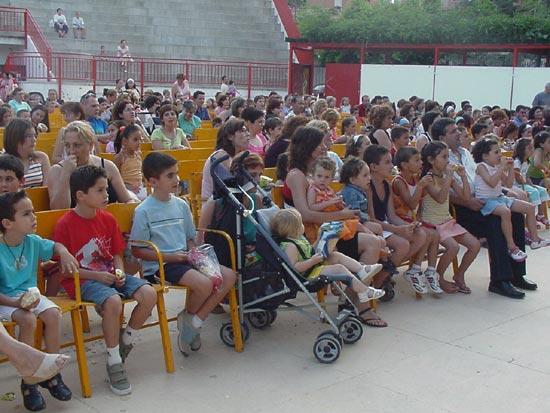 Numerosos niños asistieron al V Festival de Títeres y Marionetas, Foto 2