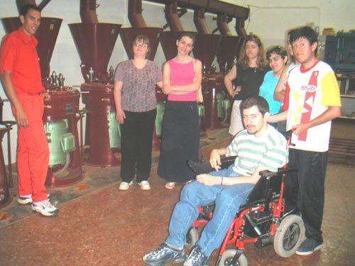 Alumnos del Programa de Formación Especial en la modalidad de Servicios Auxiliares de Oficina de MIFITO visitan COATO, Foto 1
