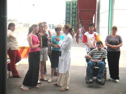 Alumnos del Programa de Formación Especial en la modalidad de Servicios Auxiliares de Oficina de MIFITO visitan COATO, Foto 2