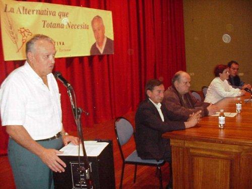 El Partido Alternativa Progresista de Totana presenta la lista con la que concurre a las elecciones municipales, Foto 3