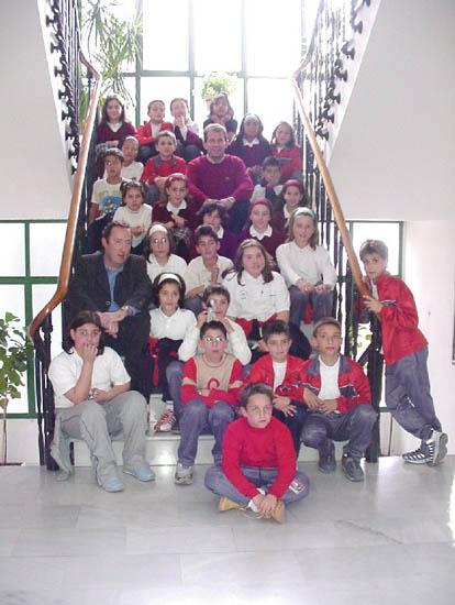 """Alumnos del colegio """"Reina Sofía"""" solicitan una biblioteca para la zona donde se ubica el centro, Foto 2"""
