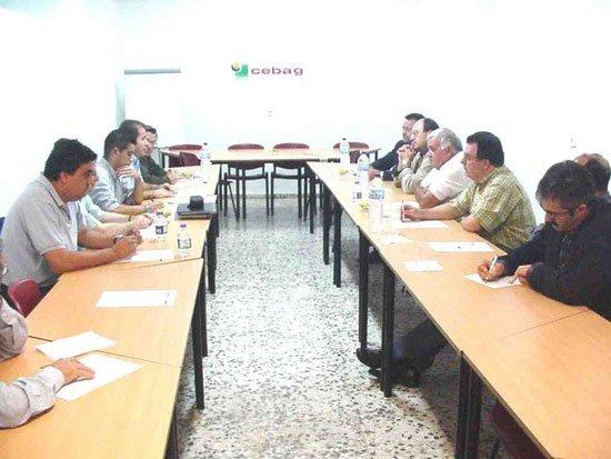 El Partido Popular de Totana se reúne con la junta directiva de CEBAG, Foto 1