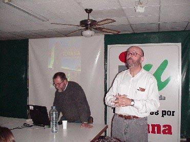 El Centro Cultural Obrero acogió una charla sobre el libro «Excursiones por Totana. 15 rutas a pie y en bicicleta», Foto 2