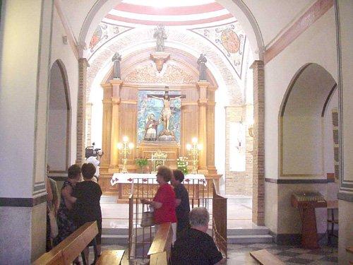 Bendecida la capilla del Santísimo del Conventom de las Tres Avemarías, tras su restauración, Foto 1
