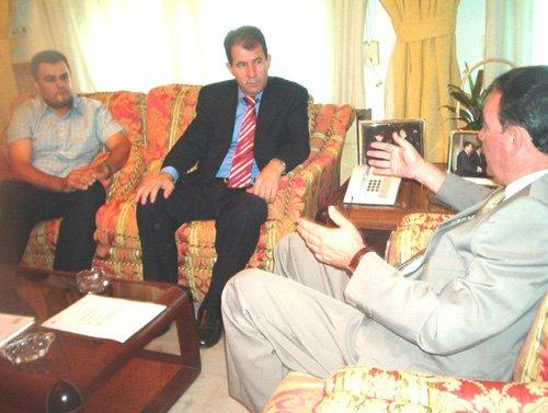 El alcalde se reunió con el delegado del Gobierno, Foto 1