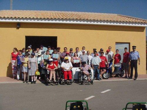 Clausura de las II Jornadas de Educación Vial para personas con disminución psíquica, Foto 2