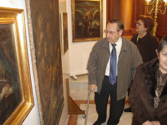La Parroquia de las Tres Avemarías acoge una exposición titulada Pintura religiosa en Totana I, Foto 2