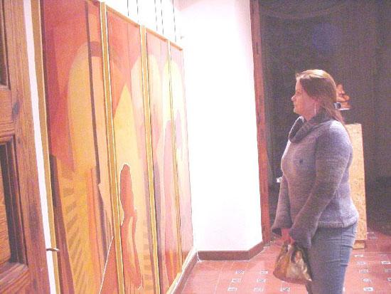 La Casa del Arcediano acoge una exposición de artes plásticas del 50 aniversario del IES «Juan de la Cierva», Foto 1