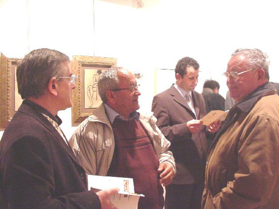 La Casa del Arcediano acoge una exposición de artes plásticas del 50 aniversario del IES «Juan de la Cierva», Foto 2