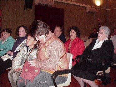 El Ilustre Cabildo Superior de Procesiones de Totana organizó un cine forum el pasado sábado, Foto 3