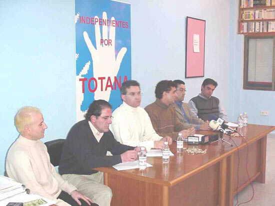 Independientes por Totana pretende ganar la confianza de indecisos y vecinos que no votaron en las últimas elecciones, Foto 1