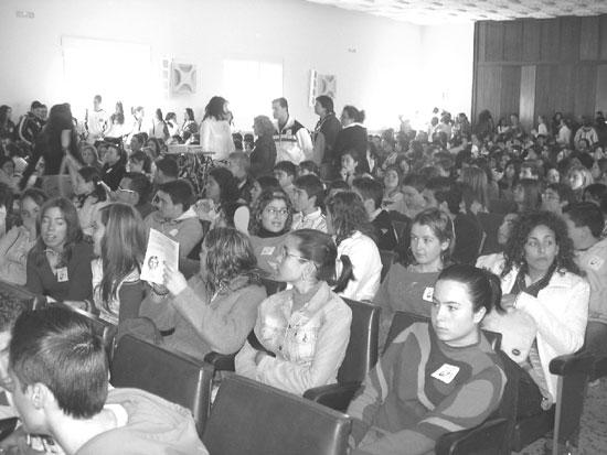 """El colegio """"La Milagrosa"""" acogió el pasado día 9 de abril un encuentro de jóvenes cristianos, Foto 3"""