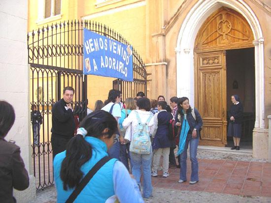 """El colegio """"La Milagrosa"""" acogió el pasado día 9 de abril un encuentro de jóvenes cristianos, Foto 4"""