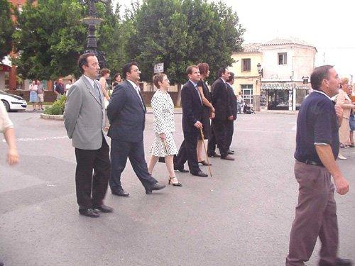 La procesión del Lunes de los Frailes recorrió las calles de la localidad, Foto 1