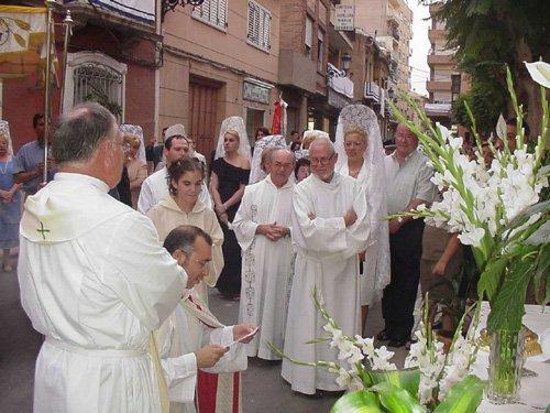 La procesión del Lunes de los Frailes recorrió las calles de la localidad, Foto 2