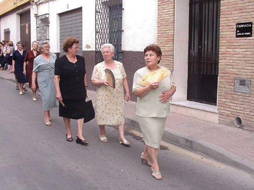 La procesión del Lunes de los Frailes recorrió las calles de la localidad, Foto 5