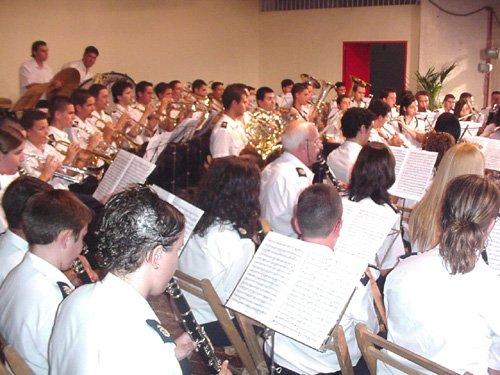 Tres agrupaciones musicales se dieron cita en el Festival de Bandas de Música celebrado en Totana, Foto 1