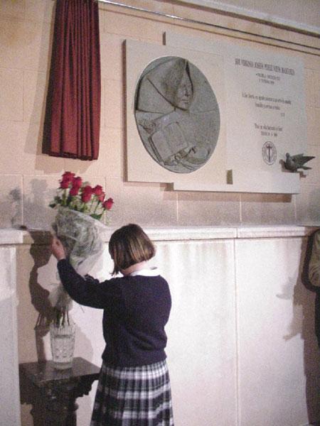 Homenaje a título póstumo de la comunidad educativa de «La Milagrosa» y la Ciudad de Totana a Sor Josefa Pérez, Foto 2