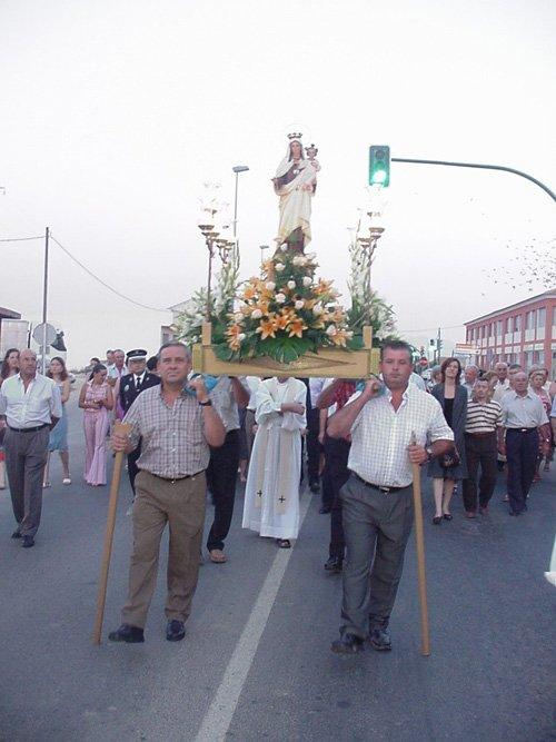 El barrio de Las Lomas de la Cruz del Paretón celebró sus fiestas en honor a Nuestra Señora la Virgen del Carmen, Foto 7