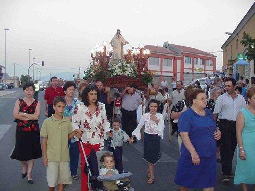 El barrio de Las Lomas de la Cruz del Paretón celebró sus fiestas en honor a Nuestra Señora la Virgen del Carmen, Foto 2