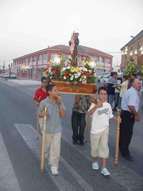 El barrio de Las Lomas de la Cruz del Paretón celebró sus fiestas en honor a Nuestra Señora la Virgen del Carmen, Foto 1
