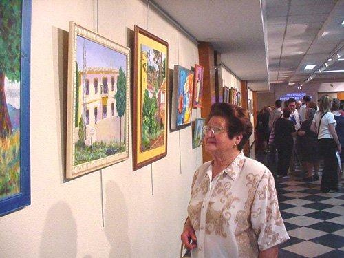 Los alumnos de pintura de la Universidad Popular exponen durante estos días sus trabajos, Foto 5