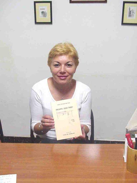 Mª José Martínez Peña: La poesía es un refugio para evadirse, Foto 1