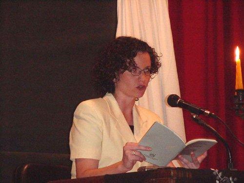 Mª Isabel Cánovas Salas presenta su libro Preludio, Foto 1