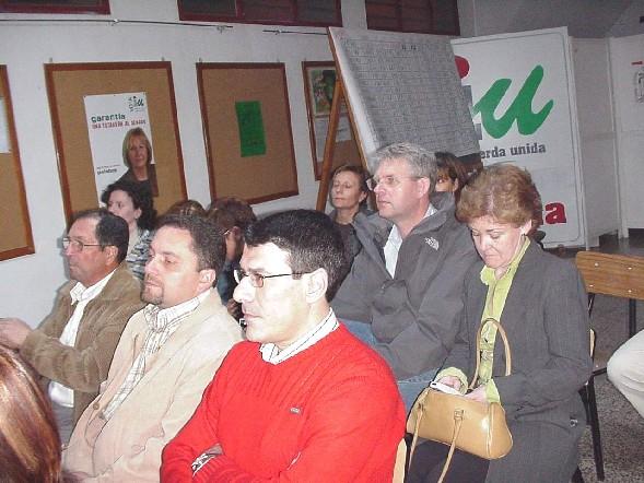 Recital de poesía de Francisco Barceló en el Centro Cultural y Obrero, Foto 2