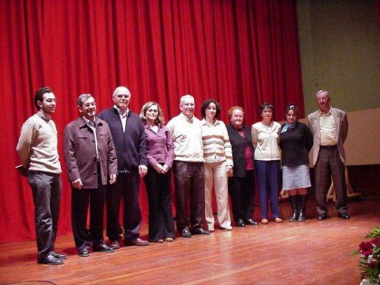 """Recital de poesía del  grupo """"Caja de semillas"""" en la entrega de premios del XII Certamen Literario La Cárcel, Foto 1"""