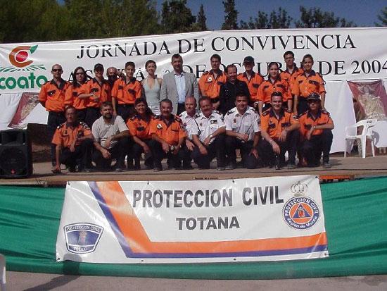 La Santa de Totana acogió un encuentro regional de voluntarios de Protección Civil, Foto 1